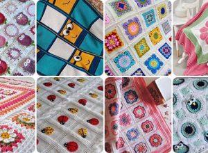 En Şık Bebek Battaniyesi Modelleri