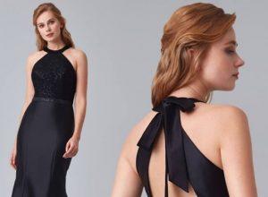 Omuz Detaylı Elbise Modelleri